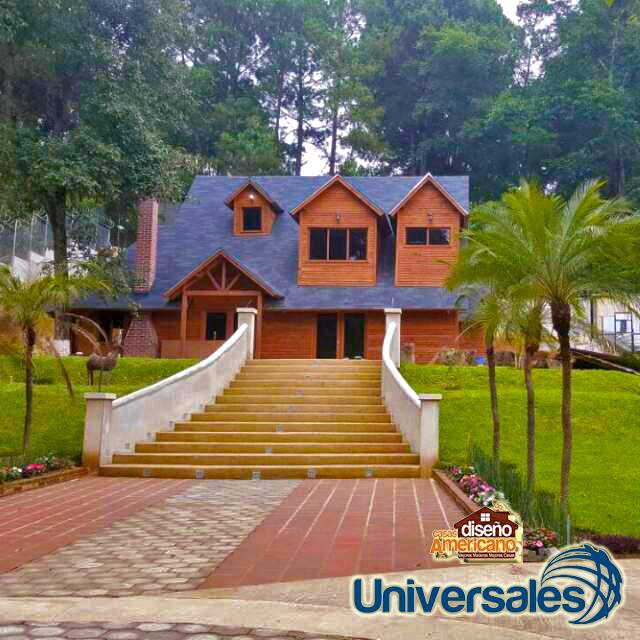 Casas dise o americano casas de madera estilo americano - Diseno casa de madera ...